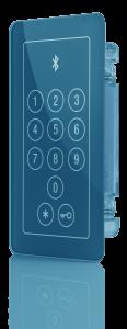BioKey Bluetooth_Touch Code im Glass Design_Blau_3