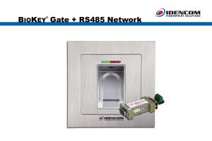 Gate RS485-2 Network BioKey