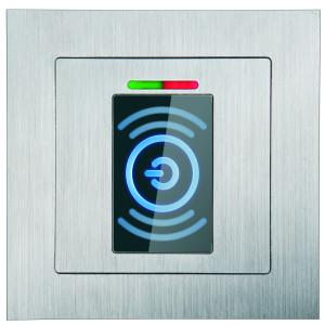 BioKey Gate_RFID Transponder_Unterputz Edelstahl_Produktfoto