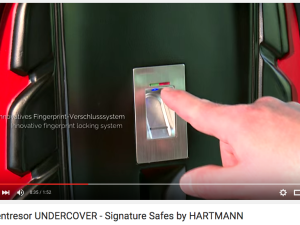 Uhrentresor UNDERCOVER – Signature Safes by HARTMANN Youtube